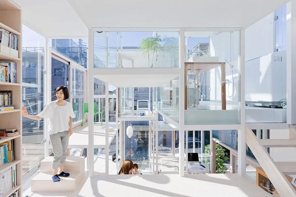 Το μοντέρνο διαφανές γυάλινο σπίτι στο Τόκιο   To blog της PRISMA